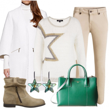 Outfit La borsa verde.