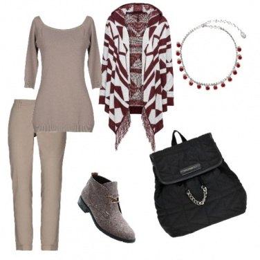 Outfit Chic e calda