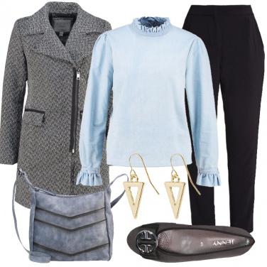Outfit Un tocco di delicatezza
