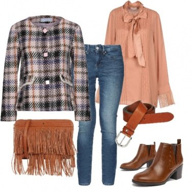 Outfit Con eleganza in jeans