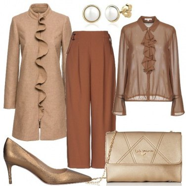 Outfit Eleganti ruches