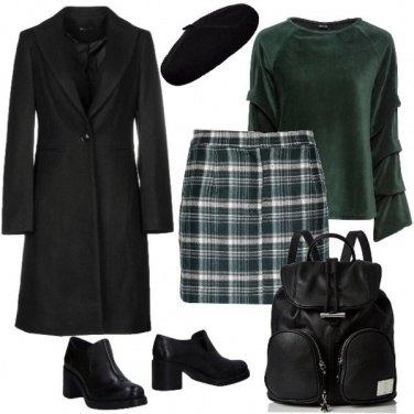 Outfit Tartan verde