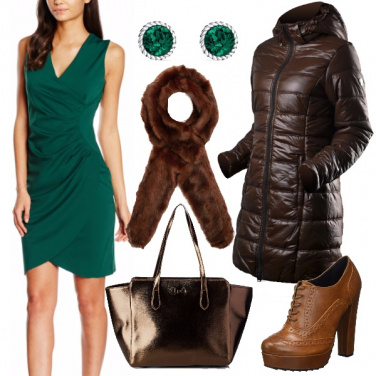 Outfit Tubino verde