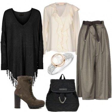 Outfit Mix di stili