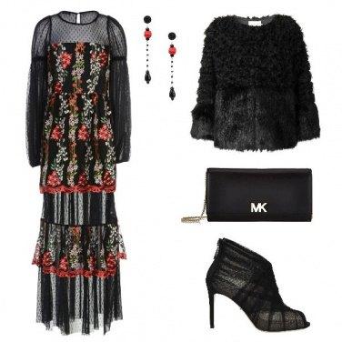 Outfit Cerimonia in inverno