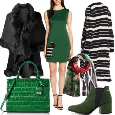 Outfit Il verde brillante che mancava
