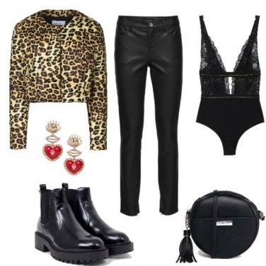 Outfit LeoBlack