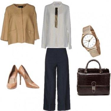 Outfit Bon Ton, riunione importante