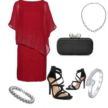 Outfit Chic, abito con pietre