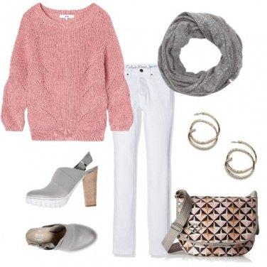 Outfit Colori chiari in autunno