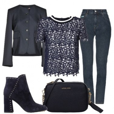 Outfit Maglietta in pizzo