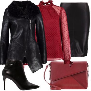 Outfit Romantica, rock e di gran classe