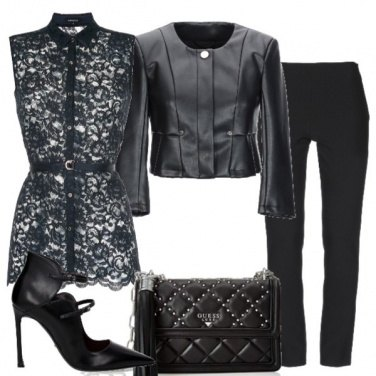 Outfit Romantica e rock