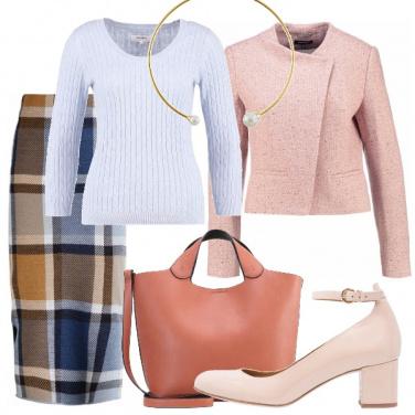 Outfit A quadri