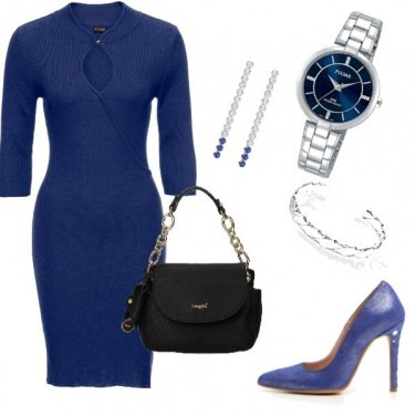 Outfit Blu simple