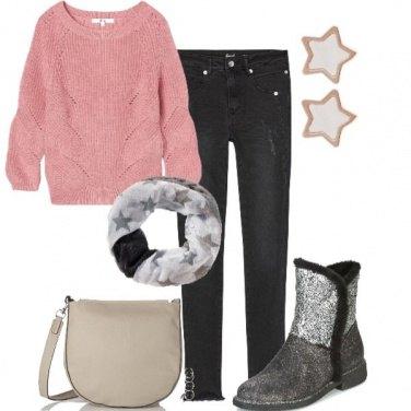 Outfit Una brillante stella curvy
