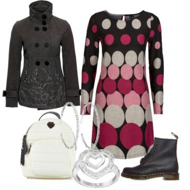 Outfit Grey and pink