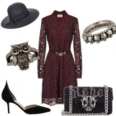 Outfit Halloween night
