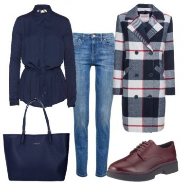 Outfit Inverno blu