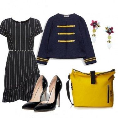 Outfit Gessato spiritoso
