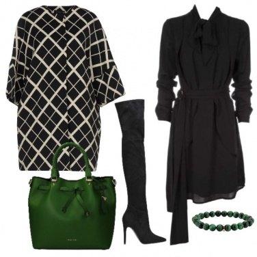Outfit La shopper verde