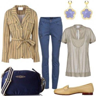 Outfit Pratica con la giacca