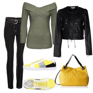 Outfit Incroci di colori