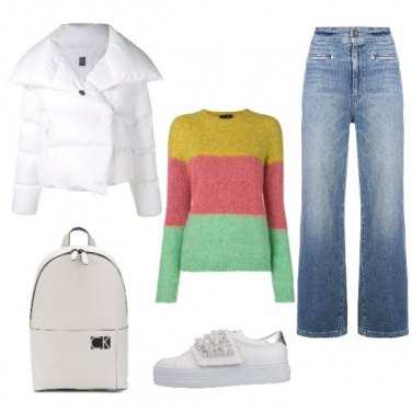 Outfit Color block