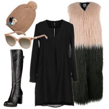 Outfit Gilet sotto la neve