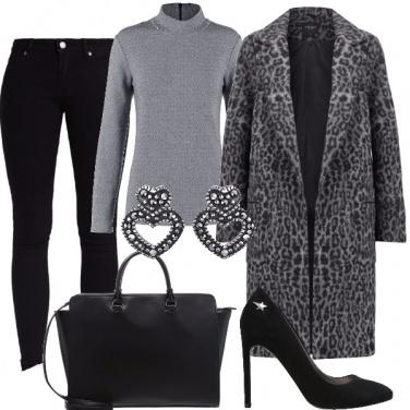 Outfit Nero & grigio