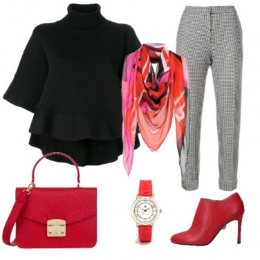 Outfit Chic in red