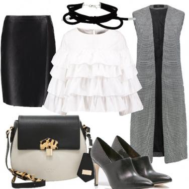 Outfit Scacchi con brio