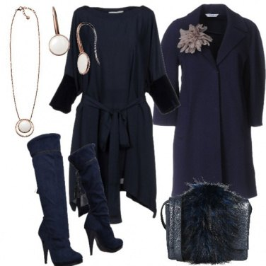 Outfit Notte blu