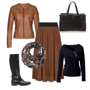 Outfit Basic in autumn