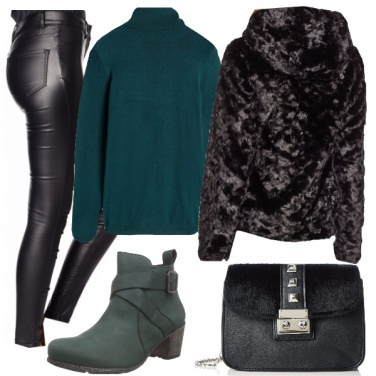 Outfit Verde trendy