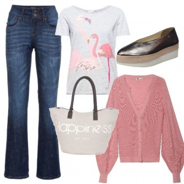 Outfit Fenicotteri