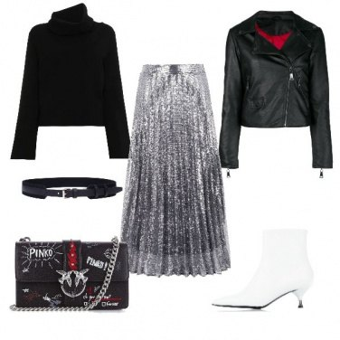 Outfit La gonna sparkly