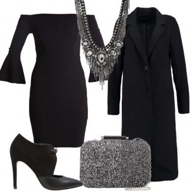 Outfit Il minidress nero