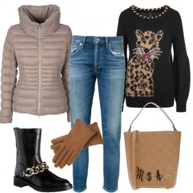 Outfit Serata in jeans