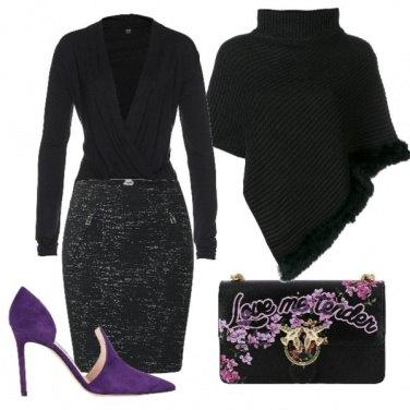 Outfit Accenti di viola