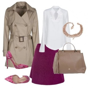Outfit L\'intramontabile trench