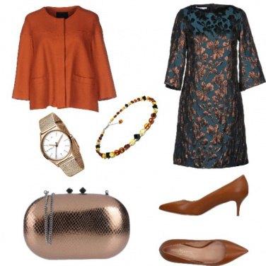 Outfit Chic, sfumature di bronzo