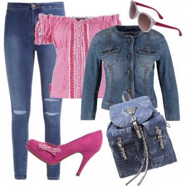 Outfit Heidi trendy!