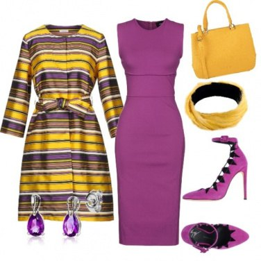 Outfit Strisce fashion