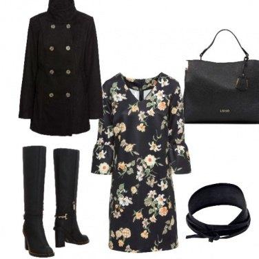 Outfit Fiori autunnali