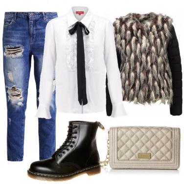 Outfit In città con la camicia