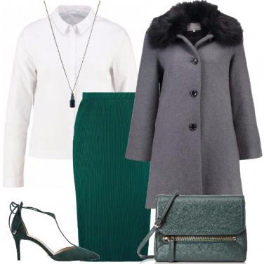Outfit Camicia in stile bon ton