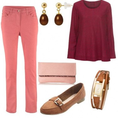Outfit Rosácea