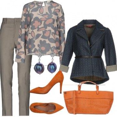 Outfit Tocco arancione