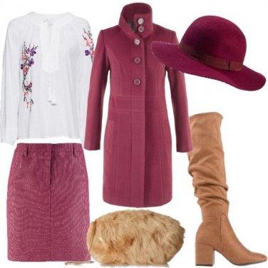 Outfit Con il cappello